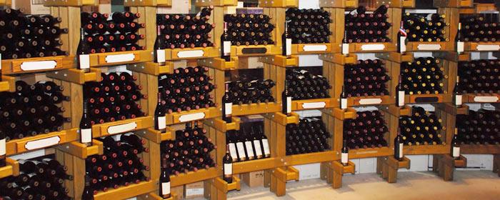 Gestern Bodega, heute Weinkeller und Weinhandlung