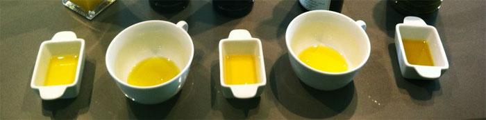 Olivenöl-Verkostung