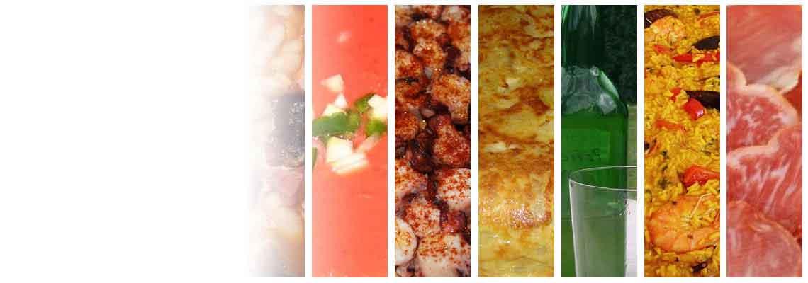 Und viele andere Produkte der spanische Küche