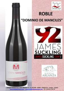 Dominio de Manciles, Roble