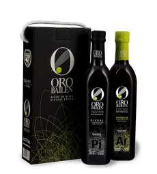 Kaltgepresstes olivenöl Oro Bailen, reserva familiar, Estuche