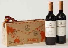 Rotwein 2 Marqués de Murrieta  en caja de cartón