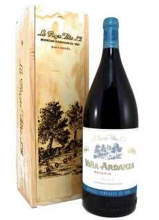 Rotwein Magnum Viña Ardanza  en Madera