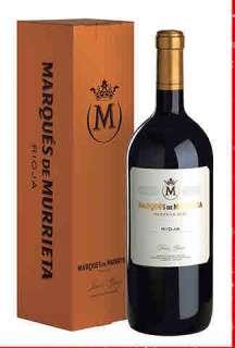 Rotwein Marqués de Murrieta  en caja de cartón (Magnum)
