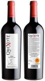Rotwein Quixote MBCF 2009