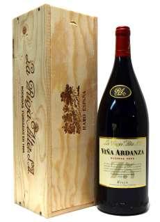 Rotwein Viña Ardanza  en caja de madera (Magnum)