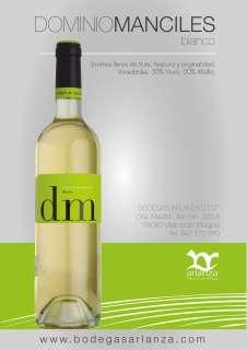 Wein Dominio de Manciles Blanco