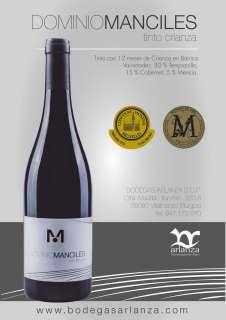 Wein Dominio de Manciles, Crianza