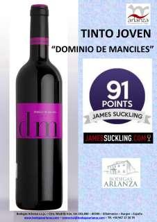Wein Dominio de Manciles, Tinto Joven