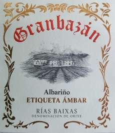 Weißwein Granbazan Etiqueta Ambar